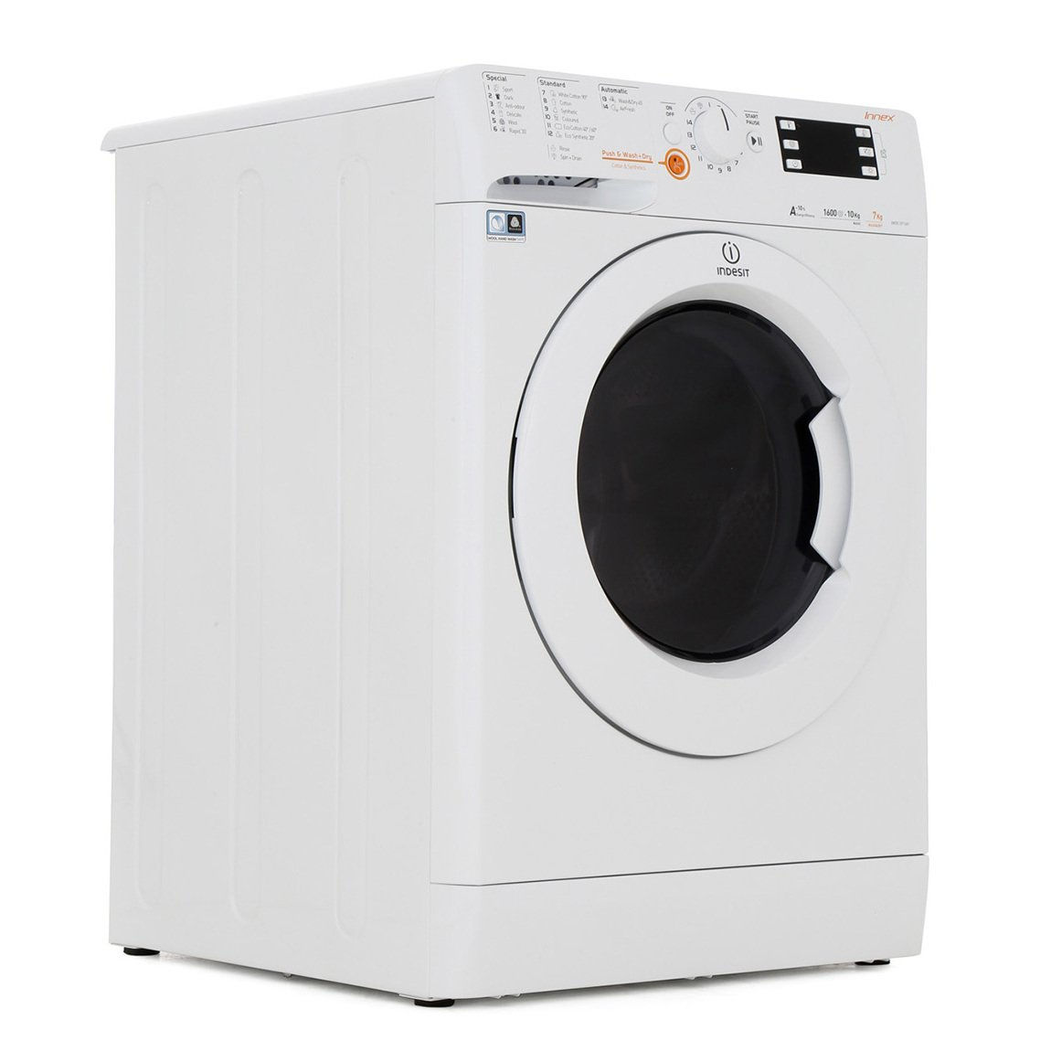 Indesit XWDE 1071681X W UK Washer Dryer