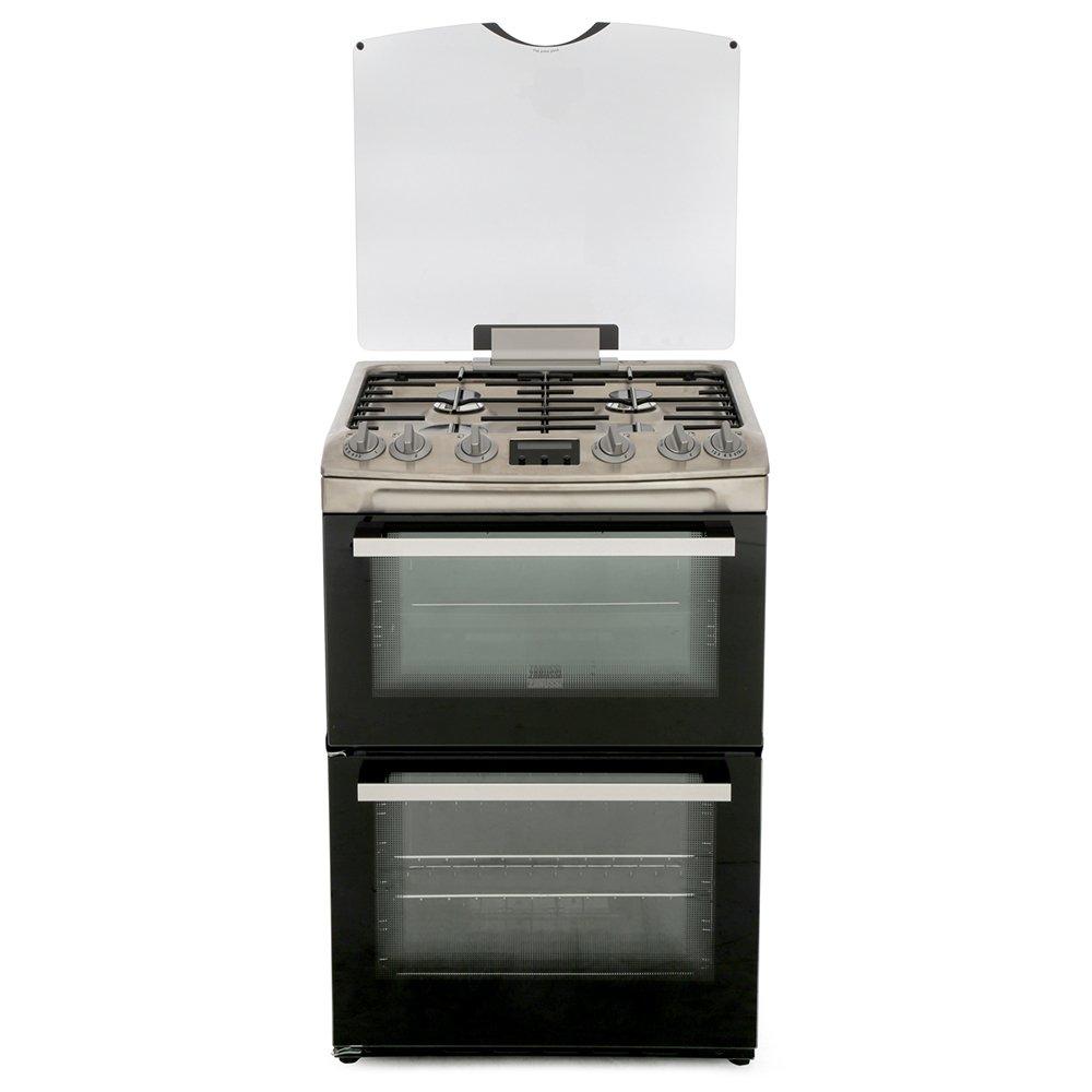 Zanussi ZCG63250XA Gas Cooker with Double Oven