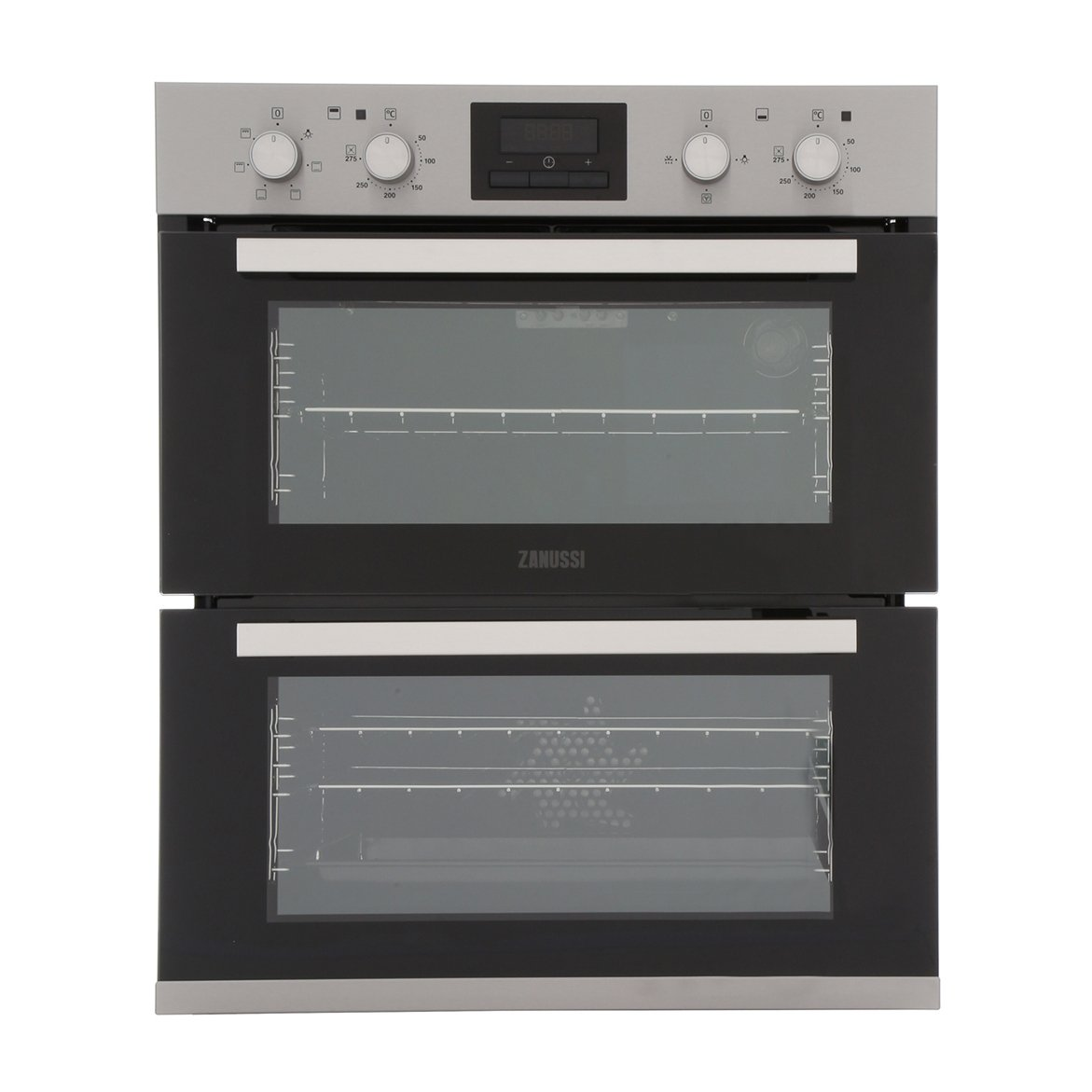 Zanussi ZOF35601XK Double Built Under Electric Oven