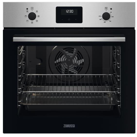 Zanussi ZOHNX3X1 Single Built In Electric Oven