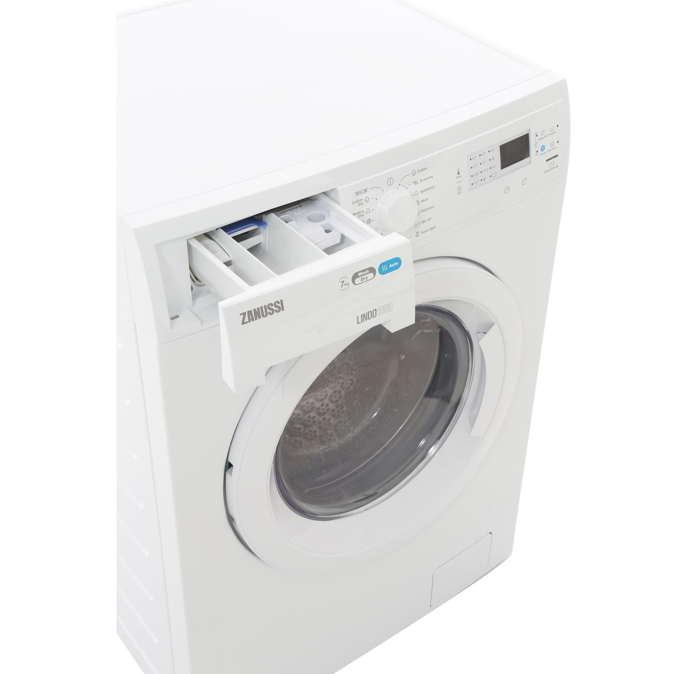 buy zanussi zwd71460nw washer dryer white marks electrical. Black Bedroom Furniture Sets. Home Design Ideas