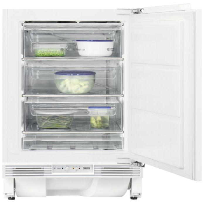 Zanussi ZYAK82FR Static Built Under Freezer