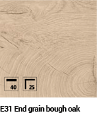 End Grain Bough Oak