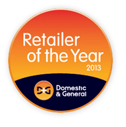 Retailer of the Year 2013 - Runner Up