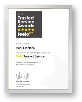 Feefo Gold Trusted Merchant - 2018