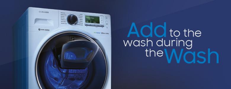 Samsung Add wash washers