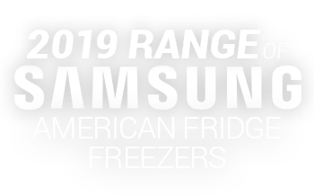 Samsung 2019 Range American Fridge Freezers