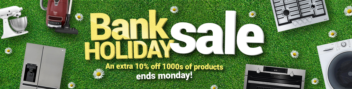 Bank Holiday Sale now on - Prices slashed