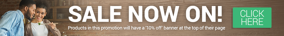10% Off Across the Site - Click Here For Selected Items