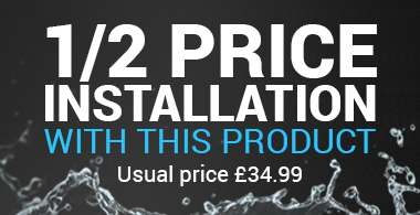 Half Price Installation with this product