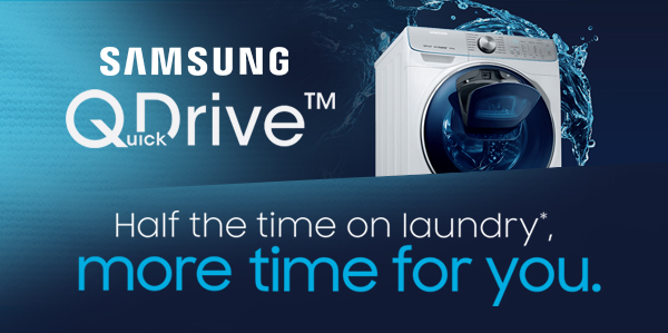 Samsung Quickdrive - More time for you