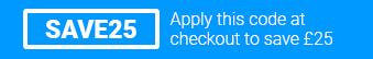 Use code SAVE25 at checkout