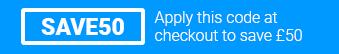 Use code SAVE50 at checkout