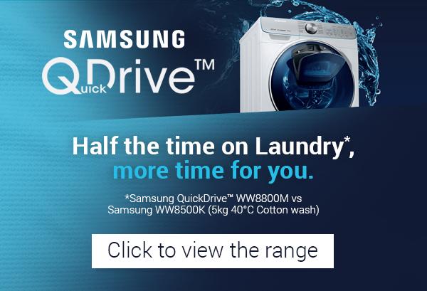 View the Samsung QuickDrive Range