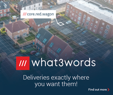 What3words - Deliveries exactly where you want them - Find out more