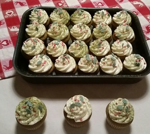 Cupcakes au moringa multi