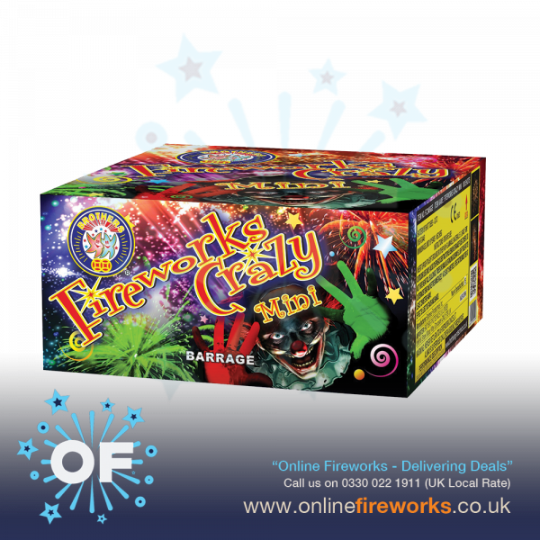 Fireworks-Crazy-mini-by-Brother-Pyrotechnics-from-Online-Fireworks