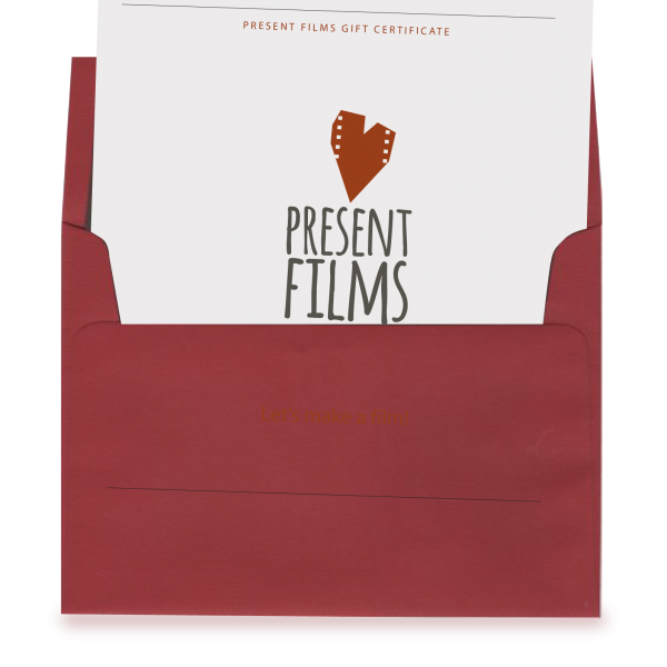 Present Films Gift Certificate