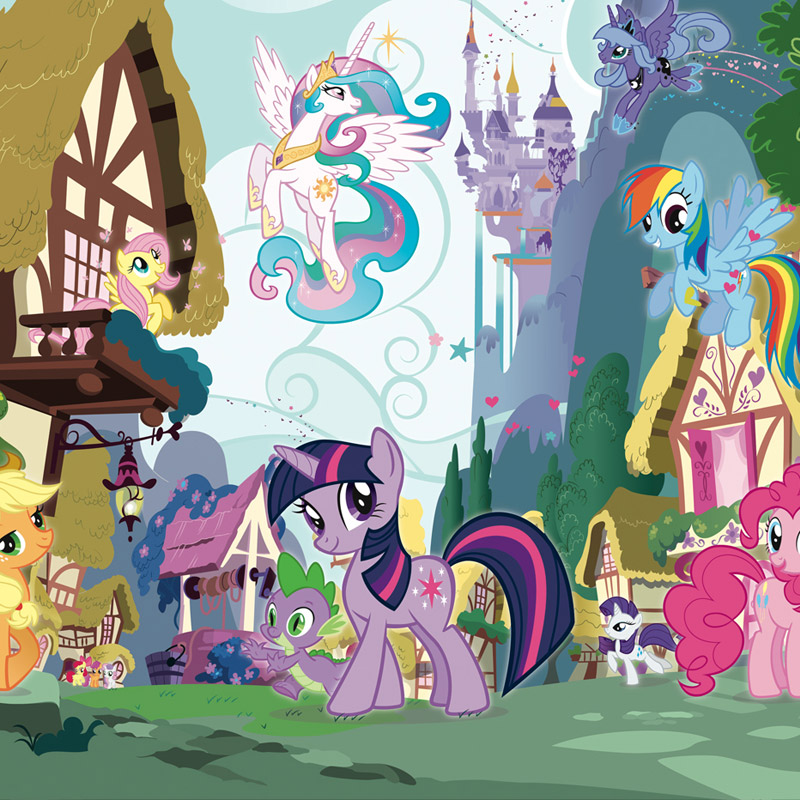 Walltastic My Little Pony Mural Wall Stickers