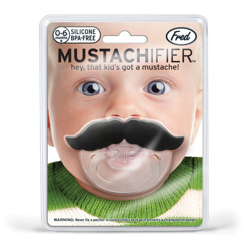 Chill Baby Moustache Dummy