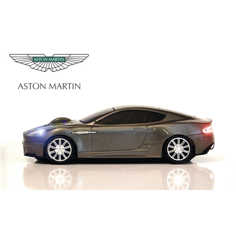 Wireless Car Mouse - Aston Martin - Storm Black