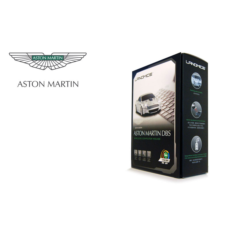 Wireless Car Mouse - Aston Martin - Quantum Grey