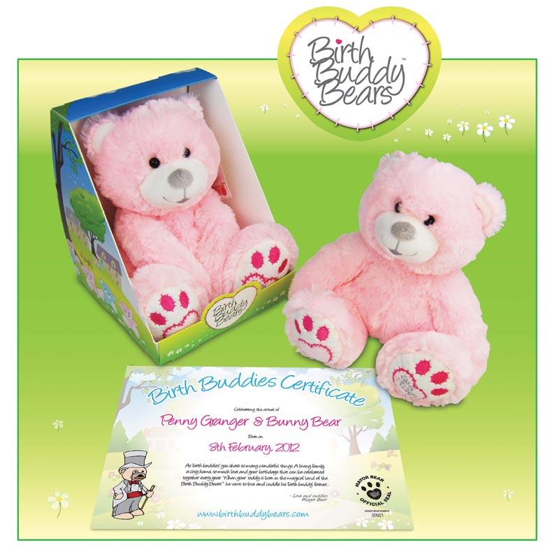 Birth Buddy Teddy Bears