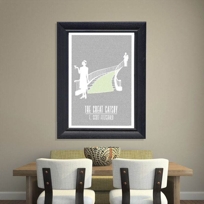Litograph Poster - The Great Gatsby