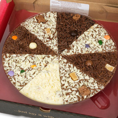 Delicious Dilemma Chocolate Pizza