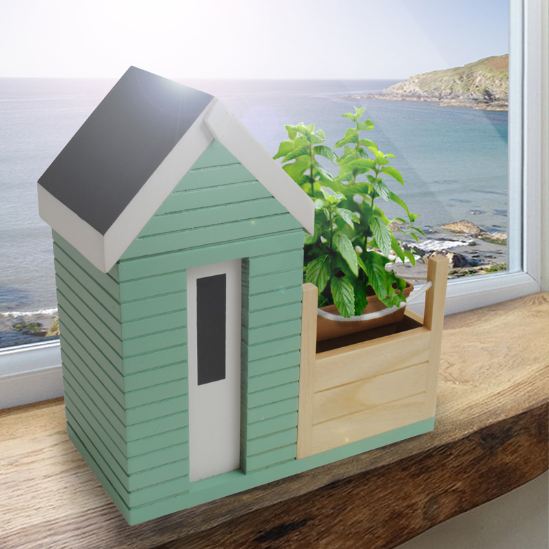 Beach Hut Planter Gift Set Buy From