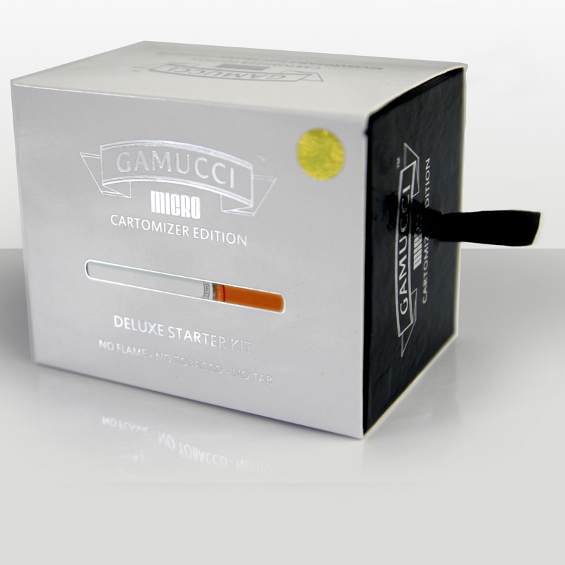 Gamucci Micro Electronic Cigarette - Cartomizer Edition