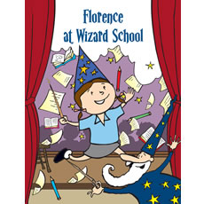 Personalised Wizard Book - Your Child at Wizard School