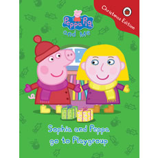 Personalised Peppa Pig - Your child and Peppa go to playgroup (Christmas Edition)