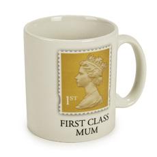 First Class Mum Porcelain Mug