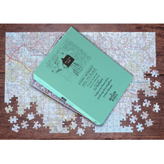 Personalised Postcode Jigsaw - 255 Pieces