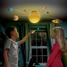Remote Controlled Illuminated Solar System