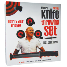 Velcro Knife Throwing Set