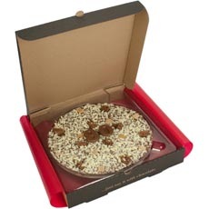 80th Birthday Chocolate Pizza - 10""
