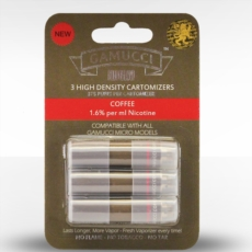 Gamucci Micro Cigarette 3 Cartomizer Refill Pack - Coffee