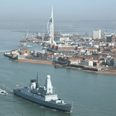 Portsmouth Harbour Helicopter Tour