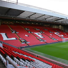 Tour of Liverpool's Anfield Stadium for Two