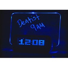 Scribble Writing Alarm Clock