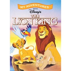 Personalised Disney Lion King Book