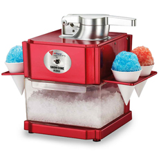 Snow Cone Ice Crusher and Slush Maker