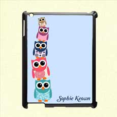 Personalised iPad and Tablet Case - Owlie