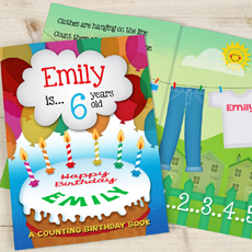 Personalised Birthday Book