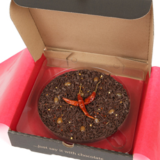 Chocolate Pizza - Chilli Chocolate 7""