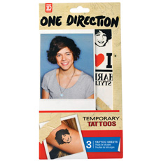 One Direction - Harry Styles Tattoos
