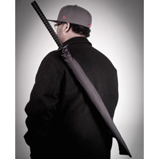 Samurai Sword Umbrella Full Length