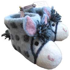Sew Heart Felt Baby Slippers - Purdy Pony